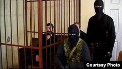 მარეკ დუდაევი ცხინვალის სასამართლოში. 20 ივნისი 2016 წ.