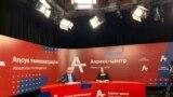 Пресс-конференция главы МВД самопровозглашенной Абхазии Дмитрия Дбара