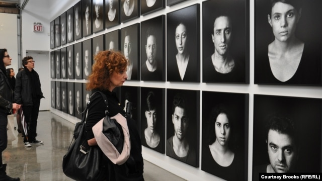 "With ""The Masses,"" Iranian artist Shirin Neshat's depicts those affected by oppression, protests, and civil unrest."