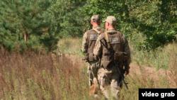 Українські прикордонники патрулюють україно-білоруський кордон