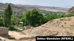 Баткенская область КР, июнь 2021 г.