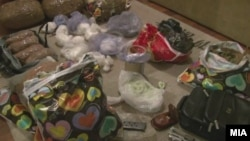 Откриена дрога во стан во Скопје,вторник, 11 ноември,2011