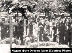 Поховання жертв НКВС червня 1941 року