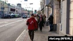 Одна из московских улиц. Иллюстративное фото.