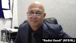 Акбари Саттор, раиси Иттиҳодияи журналистони Тоҷикистон