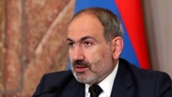 Armenia -- PM Pashinian speaks at the Ceremony Devoted to Police Day. 16April, 2019