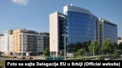 Делегация Евросоюза в Белграде, Сербия. Иллюстративное фото.