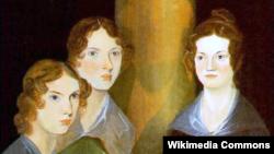 Сестры Энн, Эмили и Шарлотта. Автор Бренуэлл Бронте