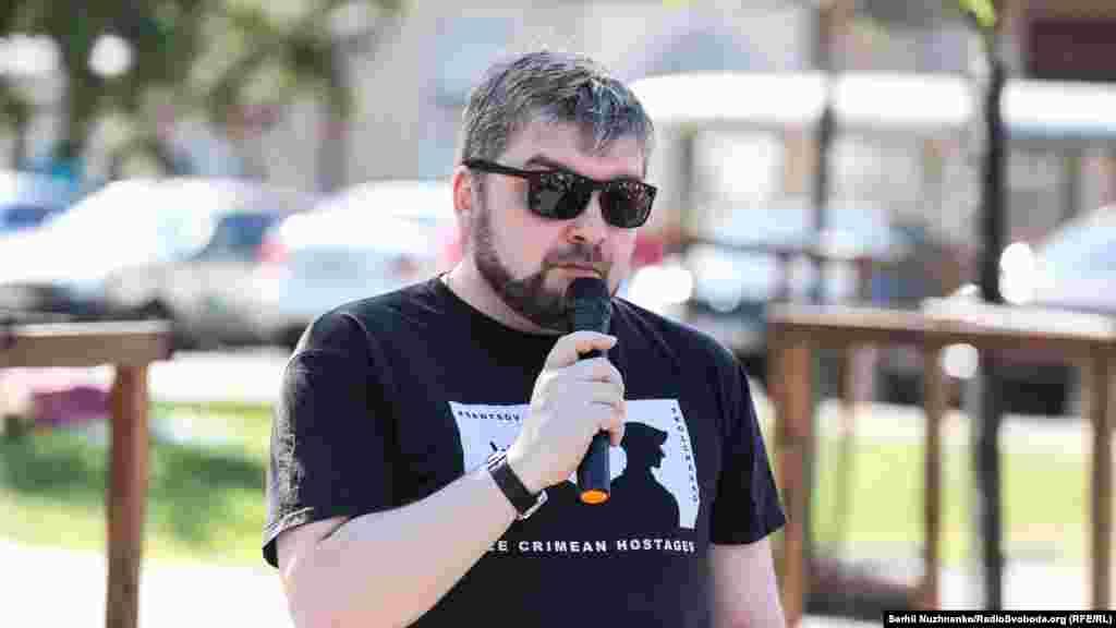 Украинский правозащитник, координатор проекта «Без границ» Максим Буткевич