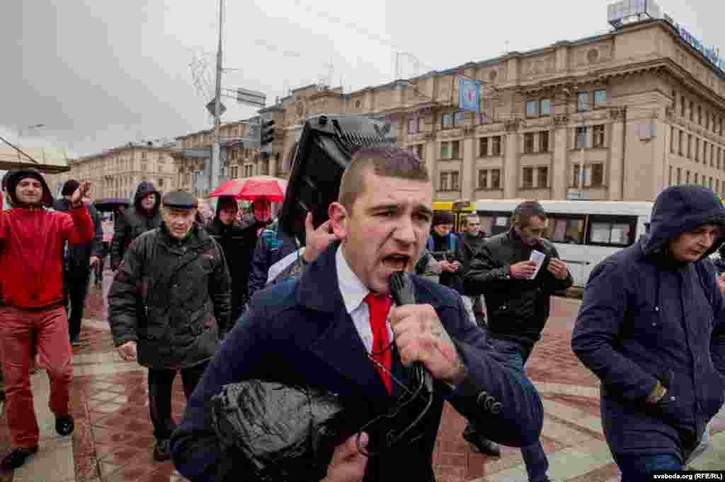 Активист «Европейской Беларуси» Артем Черняк.