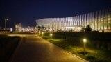 Лаванду у здания нового терминала посадили перед официальным открытием в апреле