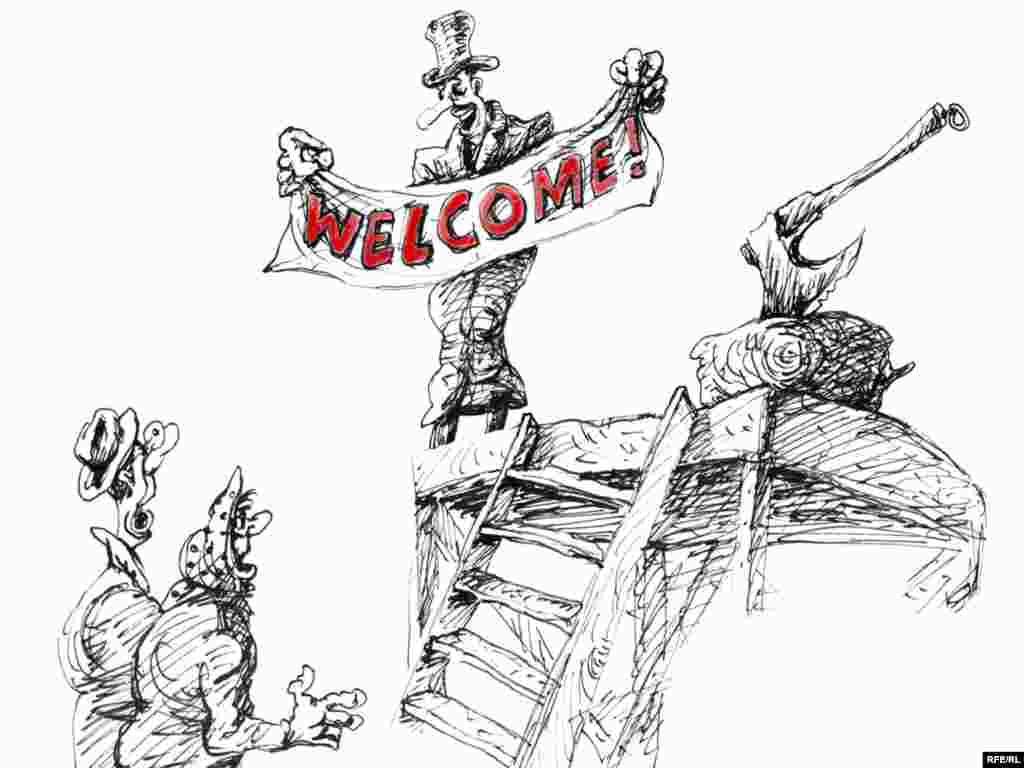 """Михаил Златковский, """"С кого начнем?"""" До того, как художник услышал призывы Владимира Жириновского к восстановлению смертной казни, у него не было четкого мнения по этому вопросу"""