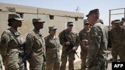 Главниот командант на американските сили во Авганистан Џон Николсон