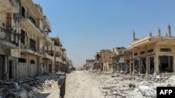Город Хан-Шейхун в сирийской провинции Идлиб.