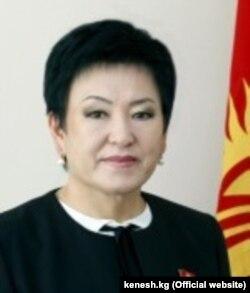 Гулькан Молдобекова.