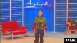 """Аида Касымалиева буга чейин """"Азаттык+"""" телеберүүсүнүн алып баруучусу, андан соң продюсери болуп иштеген"""