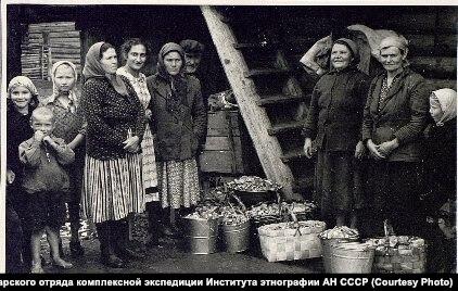 Деревня Алешкино Кежемского района, 1959 год (Кежма)