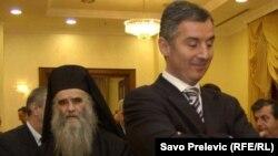 Amfilohije i Milo Đukanović