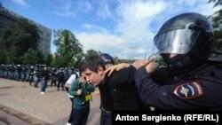 Задержание на акции оппозиции в Москве, 3 августа 2019 года