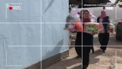 «Yat balalar yoq». Qırımlı siyasiy mabüslerniñ balalarına Oraza bayramlıq ediyeleri (video)
