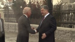 Biden Urges Continued U.S. Backing of Ukraine, Russia Sanctions