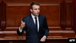 امانوئل مکرون، رئیسجمهور فرانسه