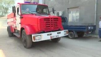 Бишкекте кампадан өрт чыкты