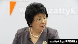 Former Kyrgyz President Roza Otunbaeva
