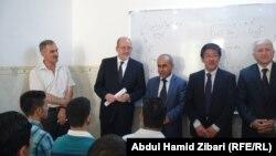 اليونسكو تدشن مركز (العدالة) لدروس التقوية للطلبة النازحين