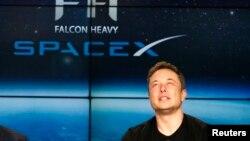 Американский бизнесмен Илон Маск, основатель и глава компании SpaceX.