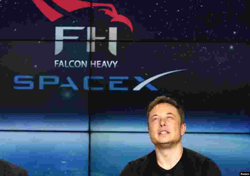 Space X компаниясының иесі Илон Маск.