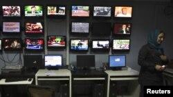 Студія Tolo TV в Кабулі