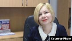 «Диапазон» газетінің бас редакторы Елена Гетманова.