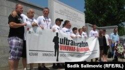 Učesnici jednog od prethodnih ultramaratona na relaciji Vukovar - Srebrenica