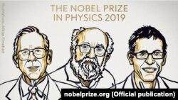 Физика саласы бойынша Нобель сыйлығының иегерлері.