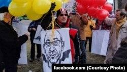 Игорь Толмачев на митинге в Харькове