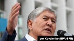 Алмазбек Атамбаев. 2019 год.