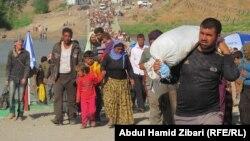 Iraq - displaced people in Erbil 14Agu2014
