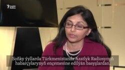 'Žurnalistler meselesini türkmen hökümetiniň öňünde göni goýýarys'