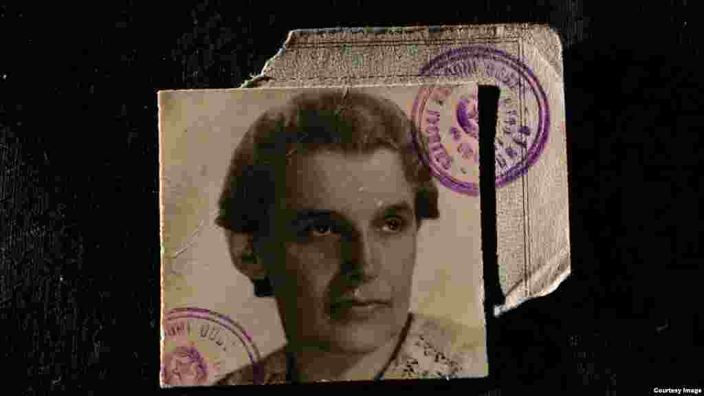 Diana Budisavljejvic's passport photo from 1945. The Austrian woman is credited with helping rescue 7,500 mostly Serbian children from wartime Croatia's death camps, part of a broader operation in which 12,000 were accommodated in convents or private homes. But her story became public only in 2003, when her granddaughter Silvija Szabo published her diaries.