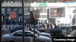 پلیس مانع تجمع در مقابل وزارت نفت شد منبع:نسیم آن لاین