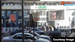 İranın Neft Nazirliyinin qarşısı, arxiv fotosu