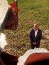 Memorial To Kosovo's War Vandalized Near North Macedonia Border
