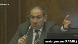 Руководитель фракции «Елк» Никол Пашинян
