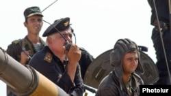 Nagorno-Karabakh - Nagorno-Karabakh army in training, 2005.