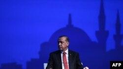 Turski predsednik Redžep Tajip Erdogan, maj 2016.