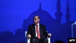 Реджеп Эрдоган на церемонии закрытия Всемирного гуманитарного саммита в Стамбуле, 24 мая 2016 года