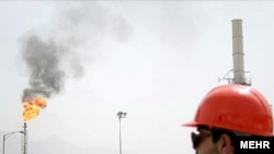 Iran -- An oil field in south Iran, undated