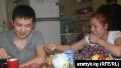 Москвадагы кыргыз мигранттары.