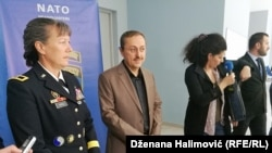Brigadna generalica Marti Bisel, šefica NATO štaba u BiH